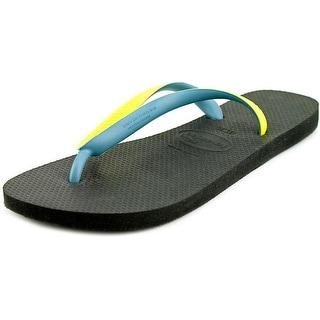 Havaianas Top Mix Men Open Toe Synthetic Yellow Flip Flop Sandal