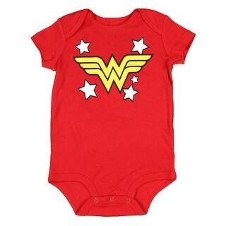 DC Comics Wonder Woman Infant baby romper creeper