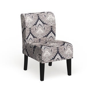 Link to The Curated Nomad Pavilion Upholstered Armless Accent Slipper Chair Similar Items in Living Room Chairs