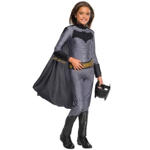 Rubies Batman Girl Child Costume - Grey/Black