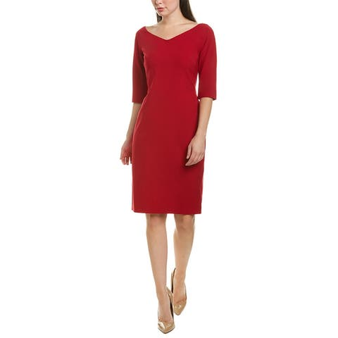 Lafayette 148 New York Alexia Wool-Blend Sheath Dress