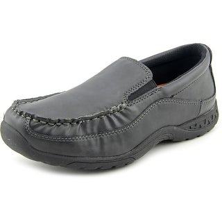 Stacy Adams Porter Youth Round Toe Synthetic Black Loafer