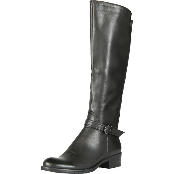 Gcny Good Choice Womens Speed Fashion Riding Boots With Buckle