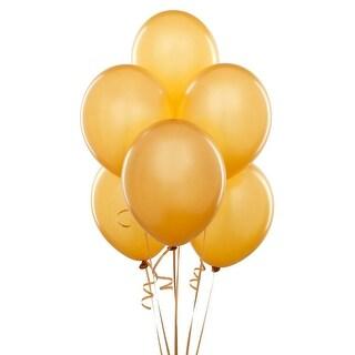 "Gold Balloons - 12"""