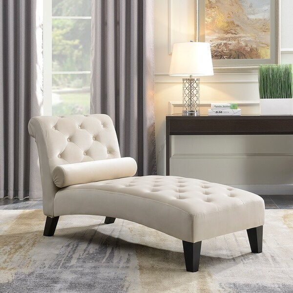Living Room Sofa Chairs: Shop Belleze Chaise Lounge Leisure Chair Rest Sofa Couch