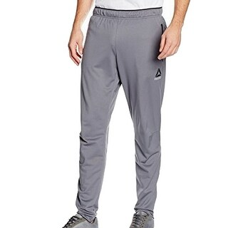 Reebok NEW Gray Mens Size 2XL Speedwick Performance Slim Track Pants