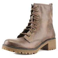 Madden Girl Eloisee Women Brown Boots
