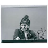 Signed Valentine Karen BW 8x10 Photo autographed