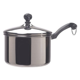 Link to Farberware  Classic Series  Stainless Steel  Saucepan  2 qt. Silver Similar Items in Cookware