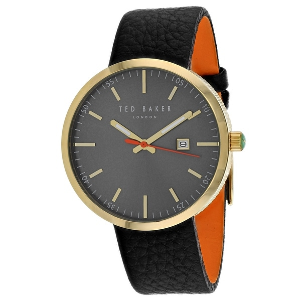 57f081715cb7c6 Shop Ted Baker Men s Classic 10031562 Grey Dial Watch - Free Shipping Today  - Overstock - 24205358