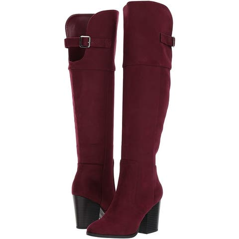 Easy Street Womens maxwell Closed Toe Knee High Fashion Boots