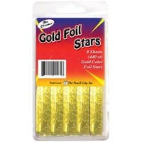 Gold - Foil Star Stickers 440/Pkg