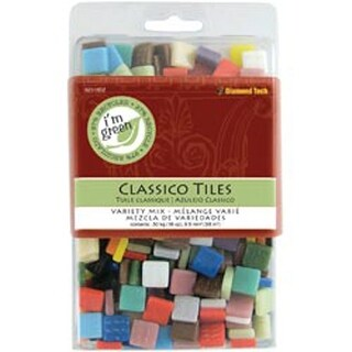 "Classico Tile Mix 3/8"" 16Oz/Pkg-Assorted Colors"