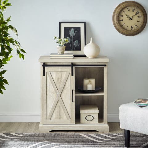 The Gray Barn Wind Gap Sliding Barn Door Console