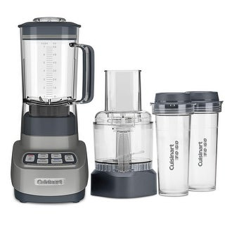Cuisinart BFP-650GM VELOCITY Ultra Trio 1 HP Blender/Food Processor, Gunmetal
