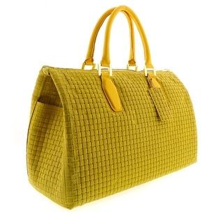 HS2021 GL TALIA Giallo Leather Satchel/Top Handle Bag