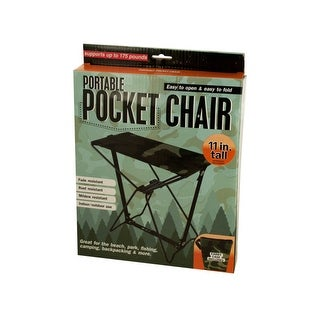 Portable Pocket Chair with Carrying Case