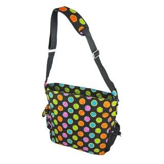 Neon Polka Dot Diaper Bag Changing Pad Baby