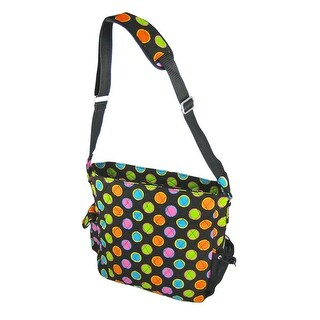 Neon Polka Dot Diaper Bag Changing Pad Baby