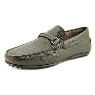 Tod's Morsetto Selleria City Gommino Square Toe Leather Loafer