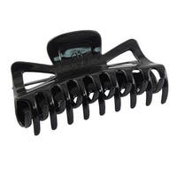 Unique Bargains Women Barrette Black Plastic Hair Clip Claws Clamp