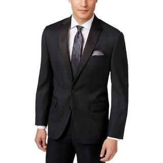 Ryan Seacrest Mens Two-Button Suit Jacket Wool Pindot - 42R