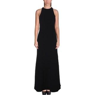 Calvin Klein Womens Evening Dress Cut-Out Back Sleeveless