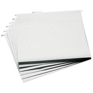 """13.25""""X14.75"""" White - Cropper Hopper Hanging File Folders 6/Pkg"""