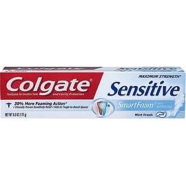 Colgate Sensitive SmartFoam with Whitening Toothpaste, 6 oz