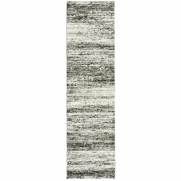 Ash and Slate Abstract Rug. Opens flyout.