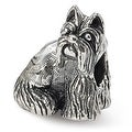 Sterling Silver Reflections Miniature Schnauzer Bead (4mm Diameter Hole) - Thumbnail 0