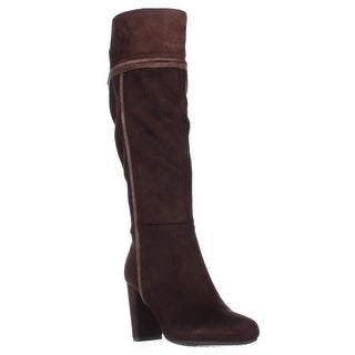 Rialto Cordelia Fashion Knee High Dress Boots, Espresso Multi