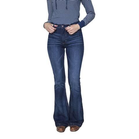 Kimes Ranch Western Jean Women Ultra High Rise Flare Leg