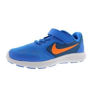 Nike Boys Revolution 3 Little Kid Mesh Sneakers - 2.5 medium (d)