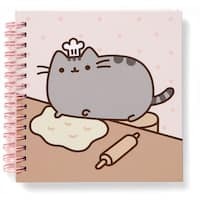 Pusheen The Cat 80 Page Spiral Notebook - multi