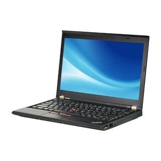 Lenovo ThinkPad X230 Intel Core i5-3320M 2.6GHz 3rd Gen CPU 8GB RAM 500GB HDD Windows 10 Pro 12.5-inch Laptop (Refurbished)
