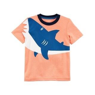 Carter's Baby Boys' Neon Shark Jersey Tee