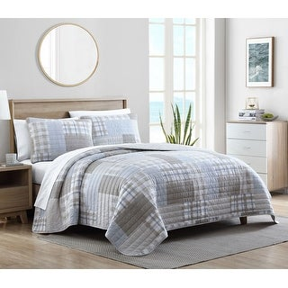 Link to Nautica Clement Cotton Quilt Set Similar Items in Quilts & Coverlets
