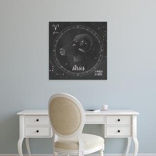 Easy Art Prints Sara Zieve Miller's 'Night Sky Aries' Premium Canvas Art