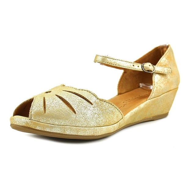 Lily Moon Metallic Leather Sandal Gentle Souls
