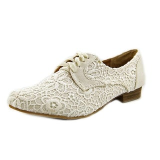Not Rated Eagle Eye Round Toe Canvas Oxford