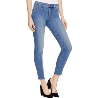 NYDJ Womens Ankle Jeans Ankle Light Wash - 4