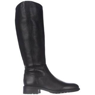 Sam Edelman Womens Ryan Leather Round Toe Knee High Riding Boots - 9.5
