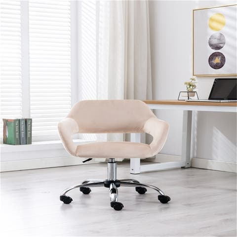 Swivel Shell office Chair for Living Room/Bed Room - N/A