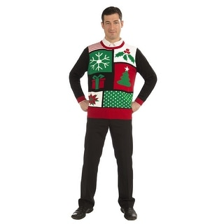 Jolly Holiday Ugly Christmas Sweater Adult