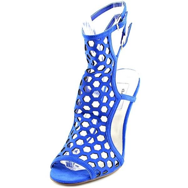 Chelsea & Zoe Elita Women Blue Sandals