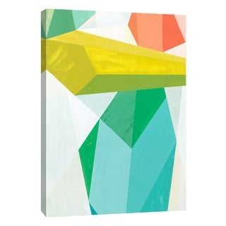 """PTM Images 9-105477  PTM Canvas Collection 10"""" x 8"""" - """"Glass Vase 2"""" Giclee Abstract Art Print on Canvas"""