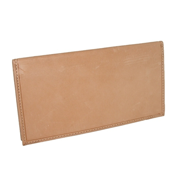 Paul & Taylor Leather Checkbook Cover Wallet - One size