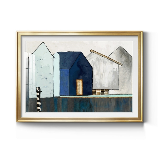 Empty Village Premium Framed Print - Ready to Hang. Opens flyout.