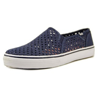 Keds Double Decker Perf Round Toe Canvas Sneakers